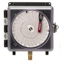 "4"" (101mm) Pressure Chart Recorder 0-100 PSI, 24-Hour"