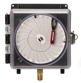 """4"""" (101mm) Pressure Chart Recorder 0-300 PSI, 7-Day"""