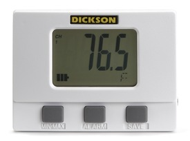 Display Temperature & Humidity Logger